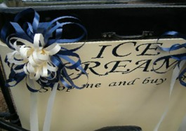 Wedding Ice Cream Tricycle